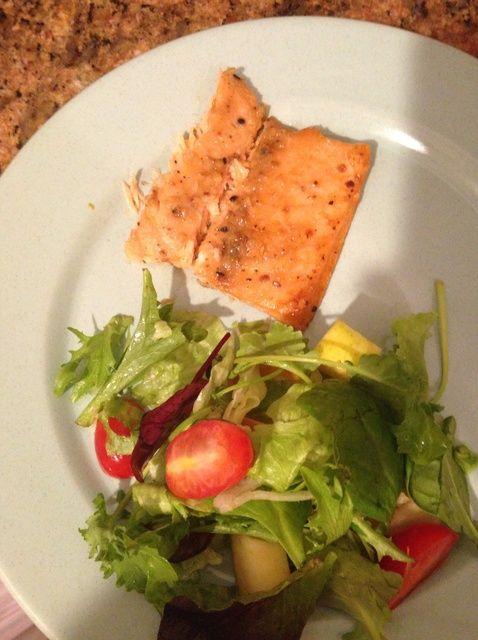 Cómo hacer de Seasame acristalamiento salmón Receta