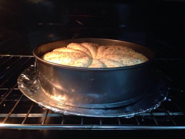 Póngalo en el horno a fuego medio a 25-30 min o cuando se vuelve marrón.