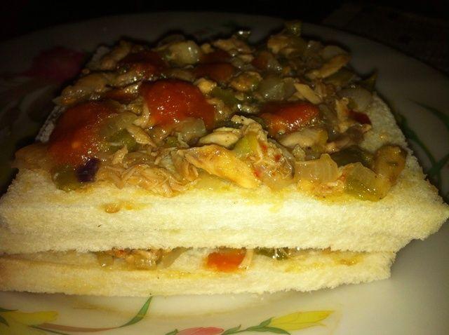 Cómo hacer destrozado Chicken Sandwiches Receta