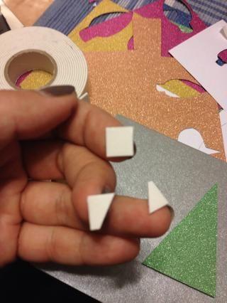 Cortar trozos más pequeños para los cortes más pequeños ... y repetir ...
