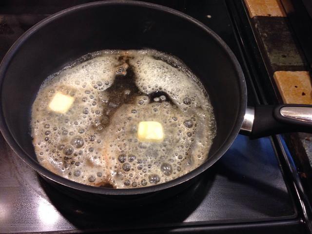 Derretir la mantequilla