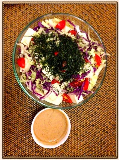 Cómo hacer simple receta de ensalada japonesa
