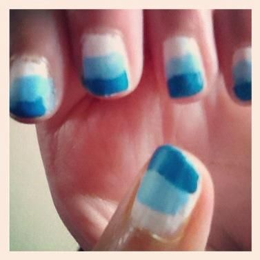 NOSOTROS'RE DONE!! Make a picture of your nails and Twitter it to @lauravanbussel!!