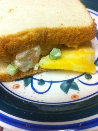 ¡Y hecho! Se puede comer directamente, lo puso en el pan tostado, o lo que quieras! Yo prefiero pan tostado con queso Colby Jack y lechuga.