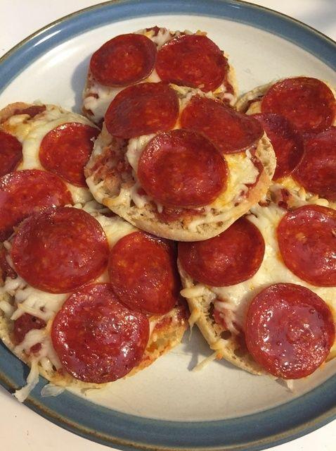 Cómo hacer pizzas merienda sencilla receta