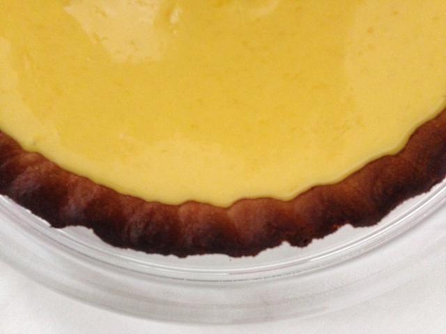 Tarta de limón - tarte au citron que tiene el limón jaja