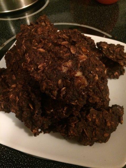 Cómo hacer flaco Chunky mono Receta de las galletas