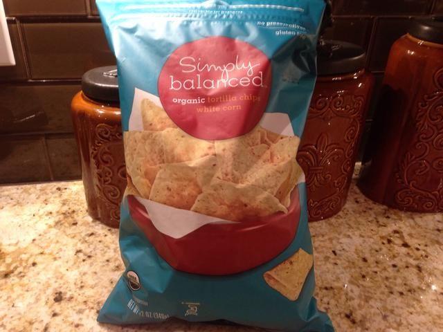 Par este descenso con un chip de tortilla saludable son como ellos.