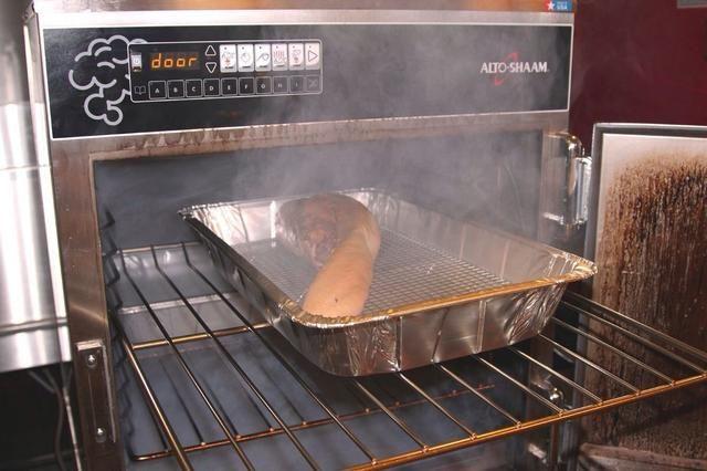 Humo frío durante 30 minutos y dejar en el horno durante 90 minutos