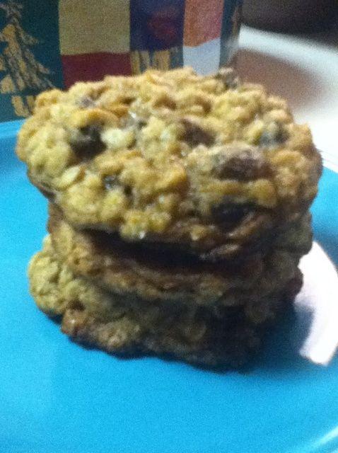 Cómo hacer Soft avena y pasas Receta de las galletas