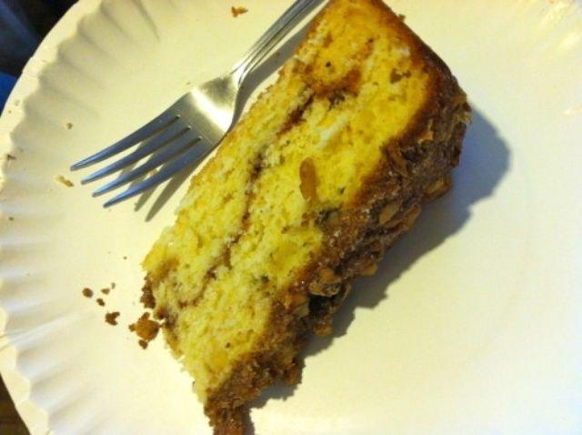 Cómo hacer crema agria Coffee Cake Recipe