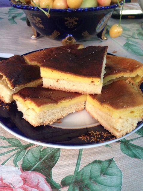 Cómo hacer crema agria Receta de la torta dulce