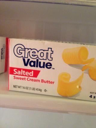 Obtenga su mantequilla listo ...