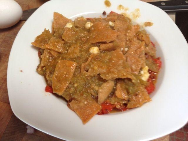 Coloque en la parte superior de la mezcla Soyrizo, es por ello que's good to have it in a bowl.