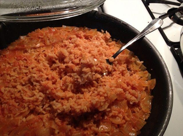 Cómo hacer la receta española Rice