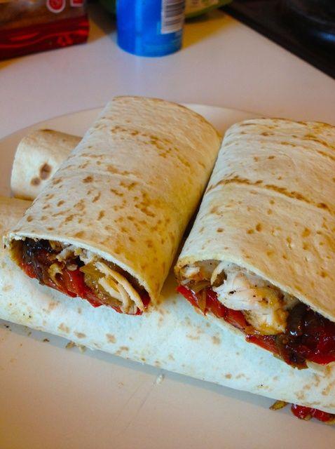 Cómo hacer picante Snack-Receta de Pollo Wrap-Saludable