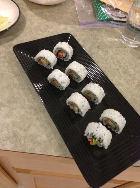 Cómo hacer Spicy Tuna Sushi Receta