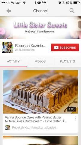 Para el glaseado tutoriales visitar mi nuevo canal de YouTube, buscar Rebeca Kazmierowicz o haga clic en el enlace en mi biografía!