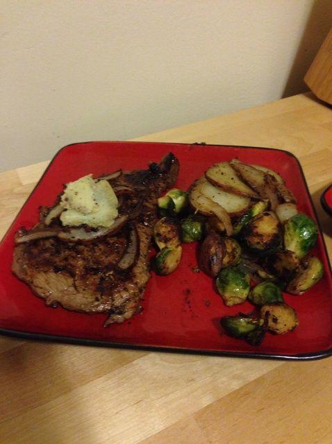 Cómo hacer Steak mantequilla al inicio Su Steak Receta