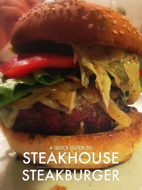 Cómo hacer Churrasquería Steakburgers Receta