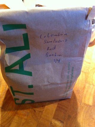Utilice el mejor café que puede pagar. Se trata de un solo origen colombiano asado en la calle de mí en South Melbourne.