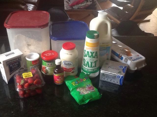 Consiga todos sus ingredientes listos y medirlos a cabo