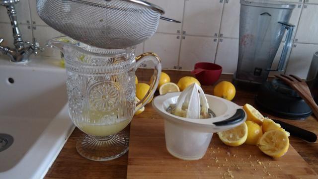 Jugo de limón Tamiz