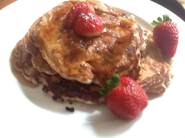 Cómo hacer Strawberry Pancakes Receta