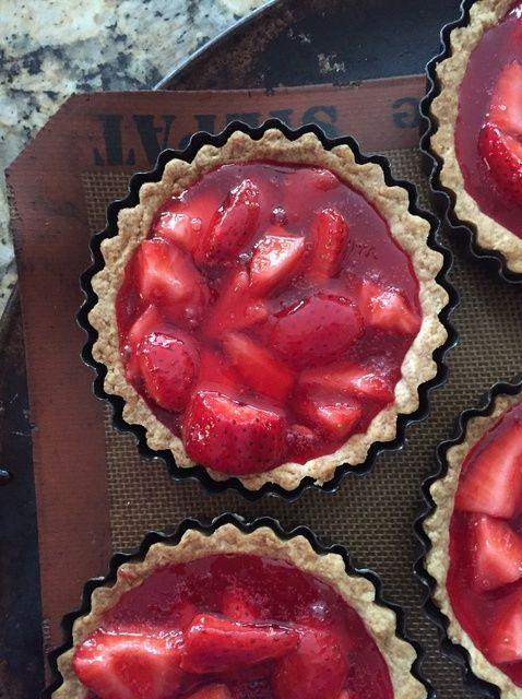 Cómo hacer Strawberry Tartaletas Receta