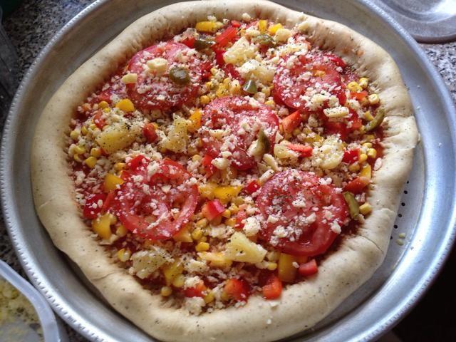 Añadir los jalapeños, queso y orégano restante restante