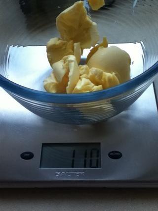 Paso 5. Medir la margarina
