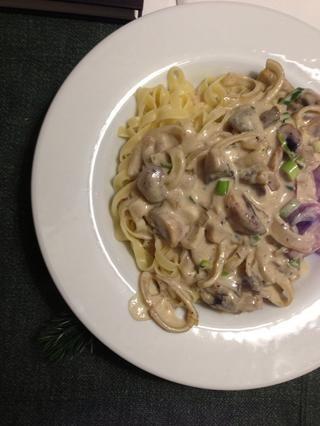 Inmediatamente combinar la salsa y la pasta en su plato favorito y disfrutar !!! ??????
