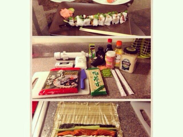 Cómo hacer sushi en casa Receta