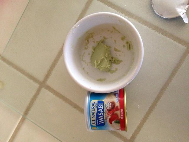Como wasabi? Opcional. Puede encontrar esto en casi cualquier mercado asiático o encontrar una
