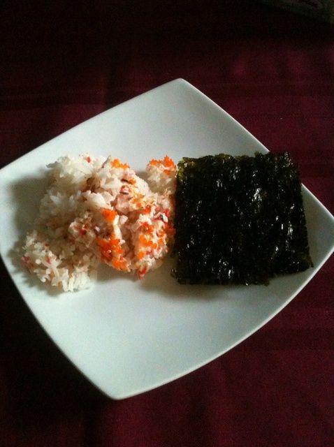 Cómo hacer Sushi Hornee Receta