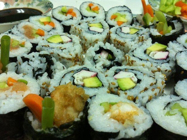 Cómo hacer Sushi Receta