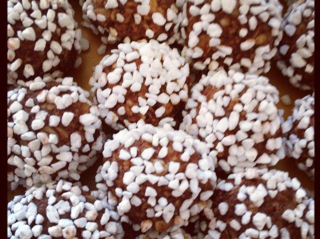 Cómo hacer sueca Chokladbollar (avena Balls) Receta