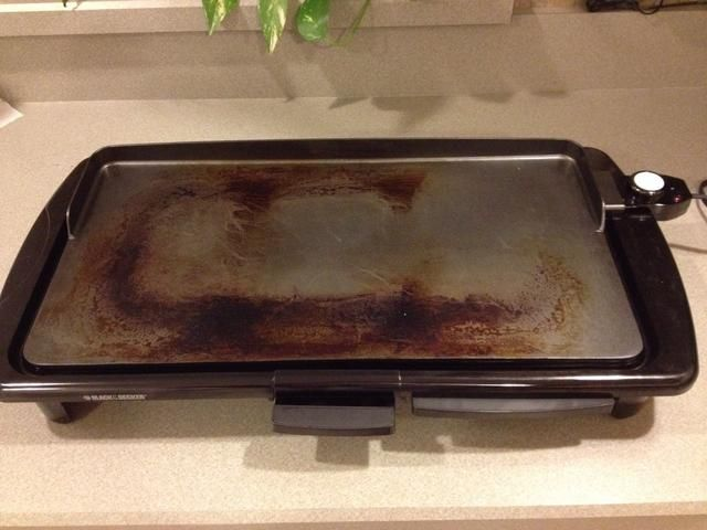 yo'm using an electric griddle, but a non-stick stove top griddle or a cast iron griddle on the stove work , too.