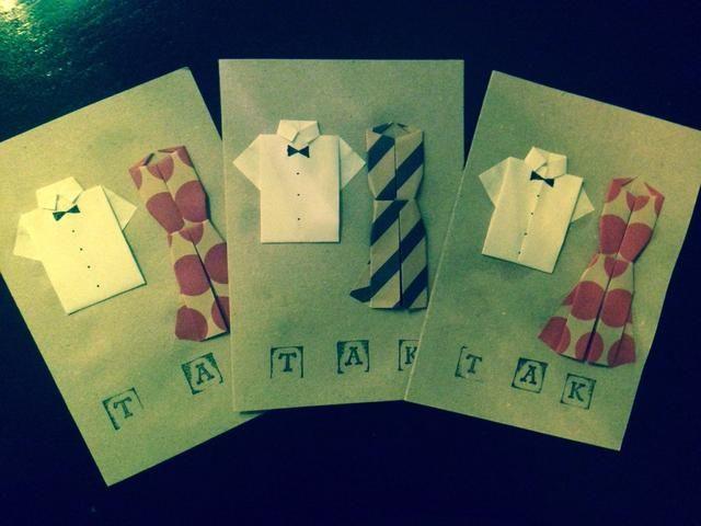 Y eso es lo que hice mis origami tarjetas de regalo