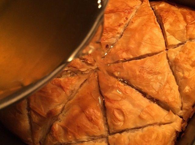 Cómo hacer dulce de pistacho Baklava Con Lemon Zest Receta