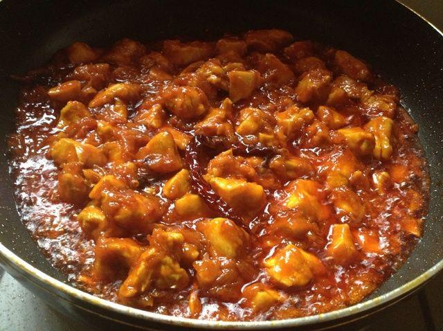 Cómo hacer Sweet & Spicy (india) Recipe Chicken
