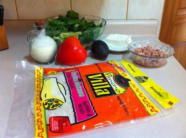 Estos son los ingredientes que he usado.