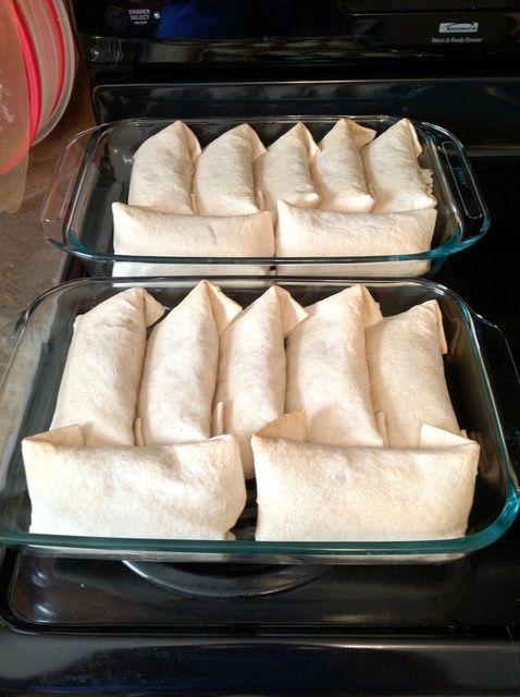 Cómo hacer Burritos Tasty (menos de 500 calorías cada uno) Receta