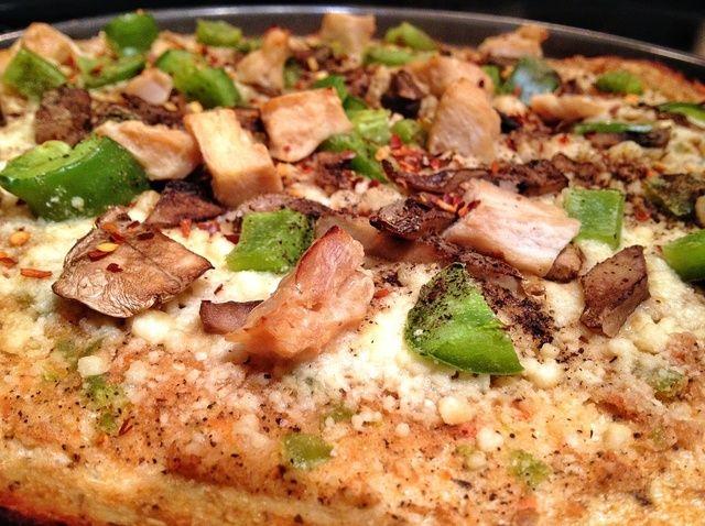 Cómo hacer sabrosa receta de coliflor pasta de la pizza