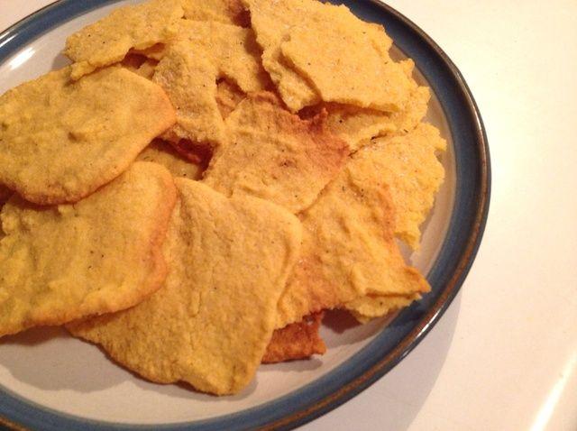 Cómo hacer chips Cornbread Tasty (patatas fritas) Receta
