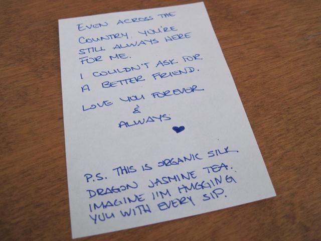 Escriba su carta de amor.
