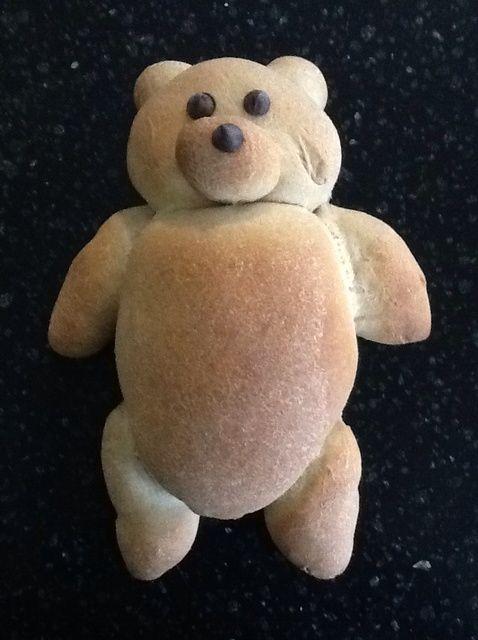 Cómo hacer Teddy Bear Receta del pan