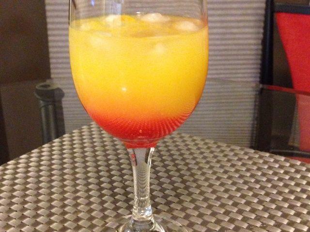 Cómo hacer Tequila Sunrise Receta