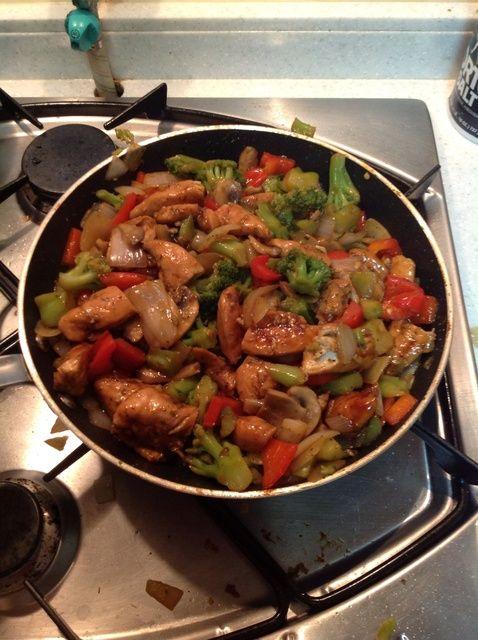 Cómo hacer pollo teriyaki Stir Fry Receta