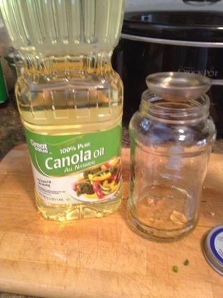 2 cucharadas de aceite de canola,